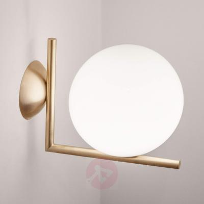 Ic C W1 Wall Lamp By Flos Brushed Brass 3510301 312